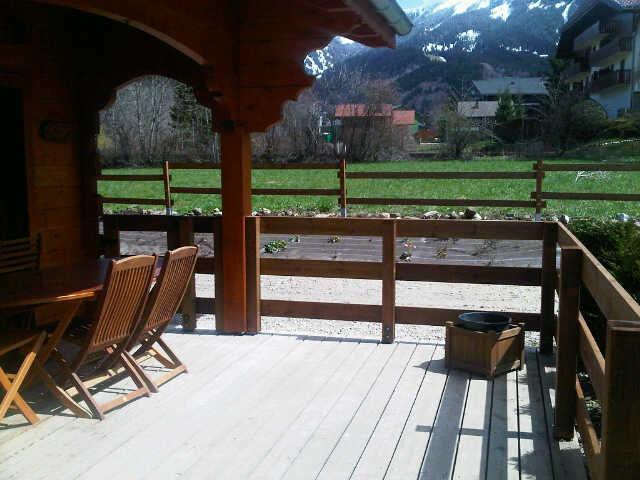 Terrasse Location Chalet 4880 Bernex