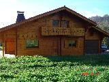 Vue extérieure de la location Location Chalet 4880 Bernex
