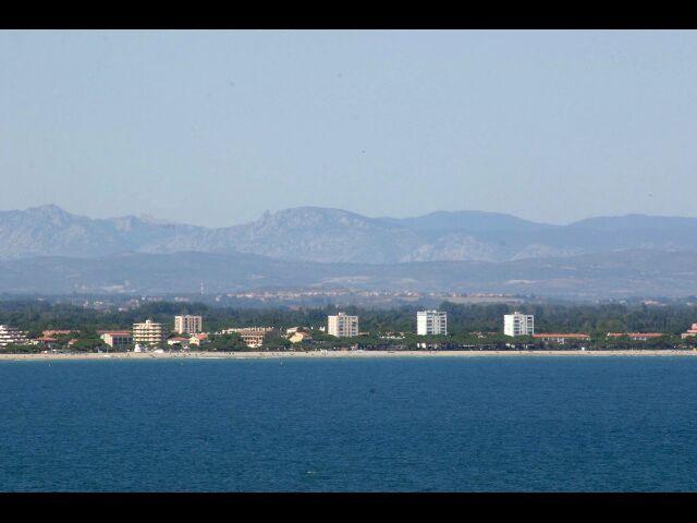 Vue depuis la location Location Appartement 49274 Collioure