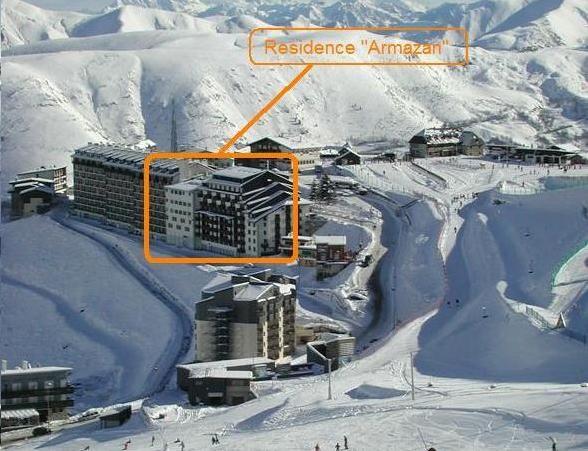 Plan de la location Location Appartement 49293 Saint Lary Soulan