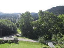 Vue depuis la location Location Appartement 49534 Bernex