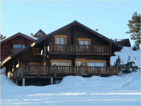 Vue extérieure de la location Location Chalet 49568 La joue du Loup