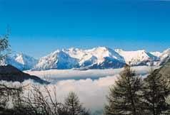 Vue depuis la location Location Appartement 50 Alpe d'Huez