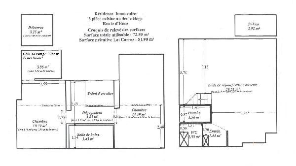 Plan de la location Location Appartement 50 Alpe d'Huez