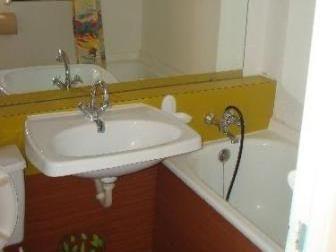 salle de bain Location Studio 50145 Le Corbier