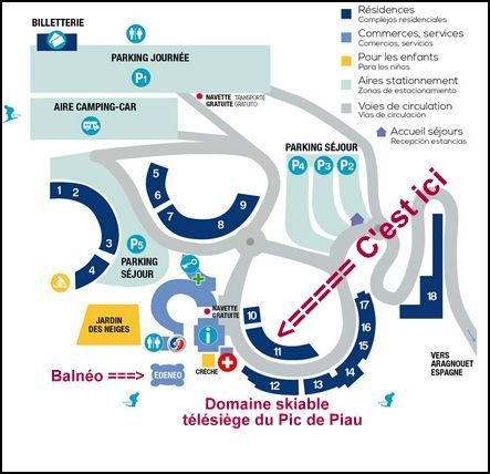 Location Appartement 50813 Piau Engaly