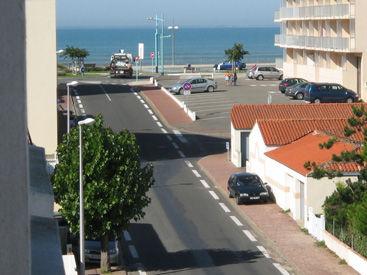 Vue du balcon Location Appartement 50925 Saint Jean de Monts
