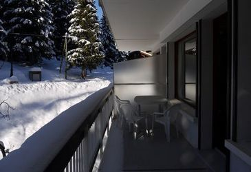 Balcon Location Appartement 51118 Courchevel