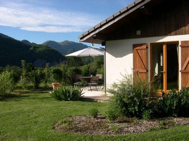 Vue extérieure de la location Location Maison 53737 Praz de Lys Sommand