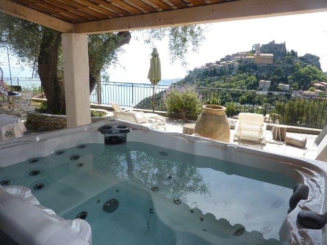 Vue de la terrasse Location Villa 5424 Monaco