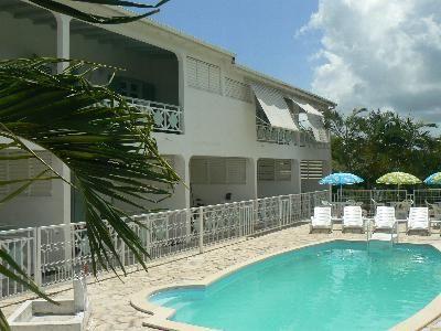 Vue extérieure de la location Location Gite 54345 Sainte Anne (Guadeloupe)