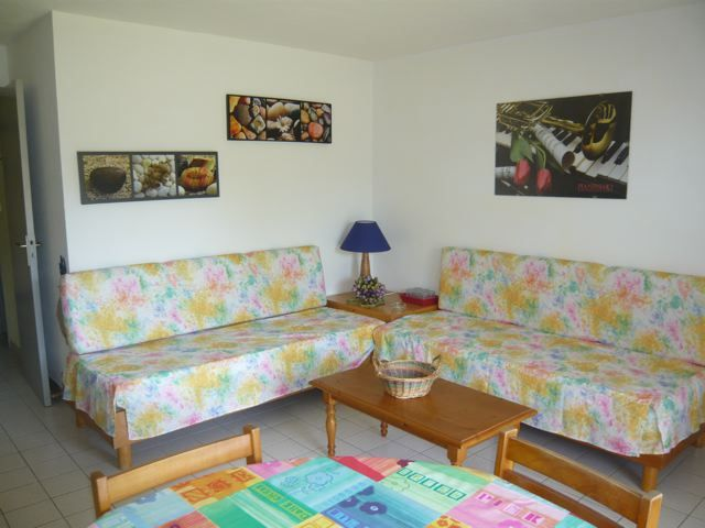 Salon Location Appartement 55047 Quiberon