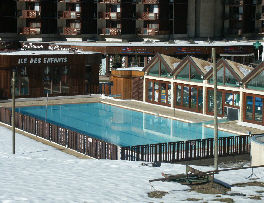 Piscine Location Studio 57992 La Plagne