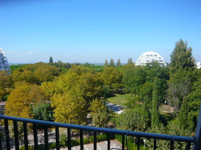 Vue depuis la location Location Appartement 58650 La Grande Motte