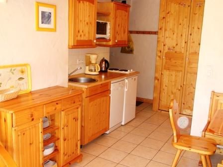 Coin cuisine Location Appartement 58749 Courchevel