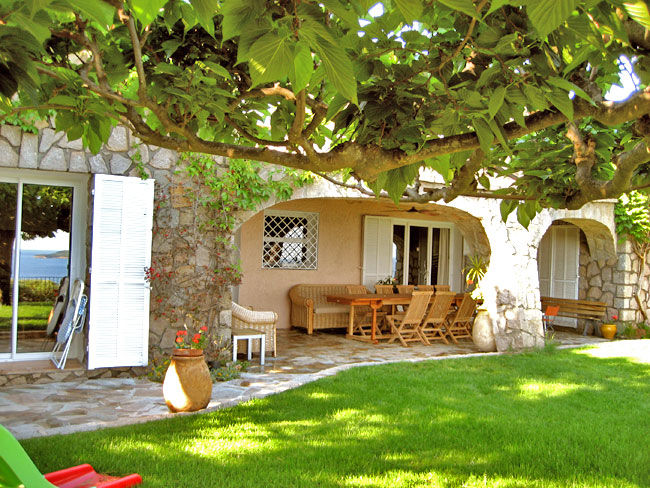 Vue de la terrasse Location Villa 59191 Ste Lucie de Porto Vecchio