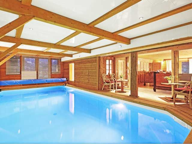 Piscine Location Chalet 60510 La Clusaz