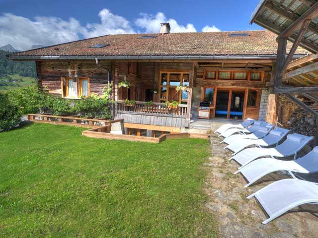 Jardin Location Chalet 60510 La Clusaz