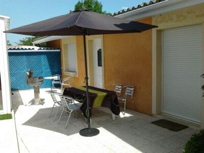 Vue de la terrasse Location Appartement 62761 Andernos les Bains