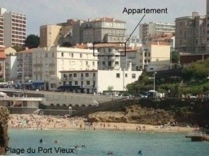 Vue extérieure de la location Location Appartement 6424 Biarritz