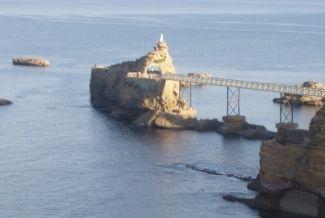 Vue depuis la location Location Appartement 6424 Biarritz