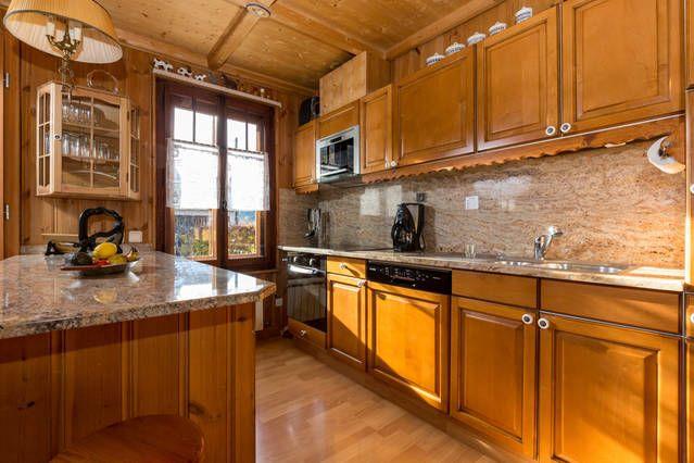 Cuisine américaine Location Appartement 647 Chamonix Mont-Blanc