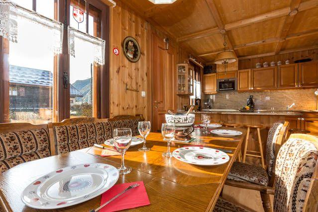 Salle à manger Location Appartement 647 Chamonix Mont-Blanc