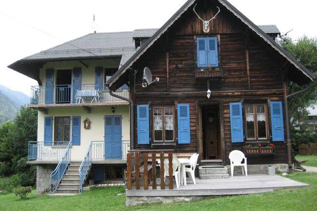Vue extérieure de la location Location Appartement 647 Chamonix Mont-Blanc