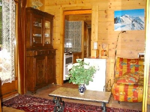 Salon Location Appartement 648 Chamonix Mont-Blanc