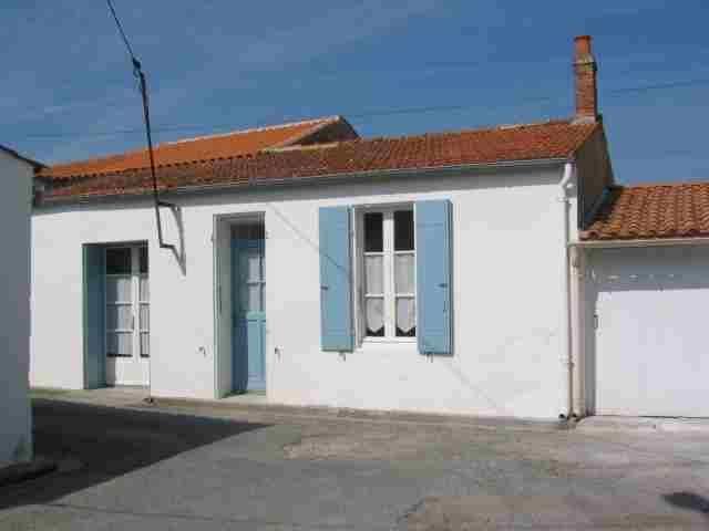 Vue extérieure de la location Location Maison 6883 Le Château d'Oléron
