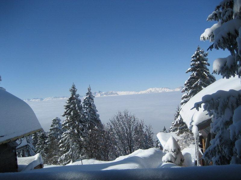 Vue de la terrasse Location Chalet 742 Chamrousse