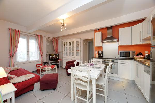 Coin cuisine Location Appartement 7766 Le Touquet