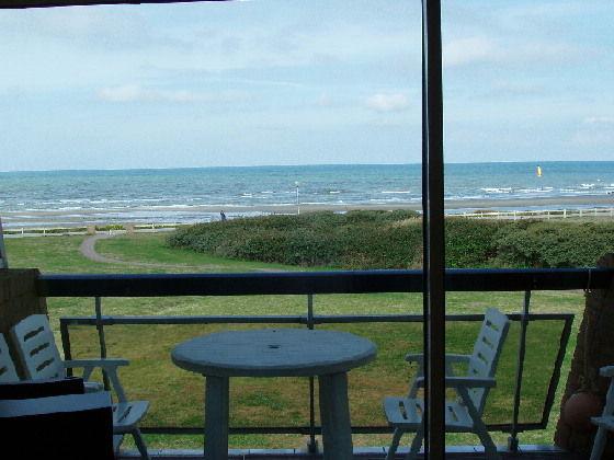 Vue du balcon Location Studio 7786 Hardelot