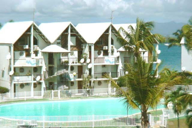Vue du balcon Location Studio 8004 Gosier (Guadeloupe)