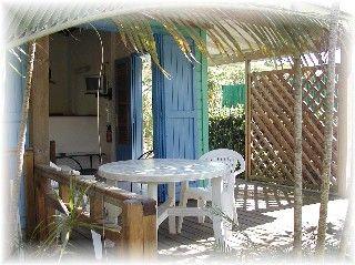 Veranda Location Bungalow 8023 Sainte Anne (Guadeloupe)