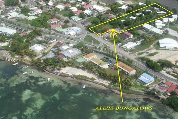 Plan de la location Location Bungalow 8029 Sainte Anne (Guadeloupe)