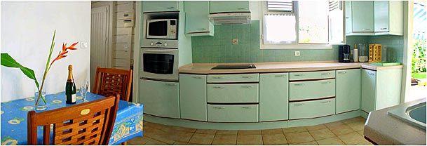Cuisine indépendante Location Villa 8123 Sainte Anne (Martinique)