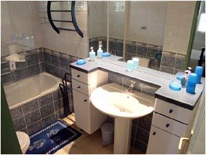 salle de bain Location Villa 8123 Sainte Anne (Martinique)
