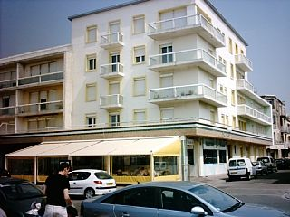 Vue extérieure de la location Location Appartement 8873 Berck-Plage
