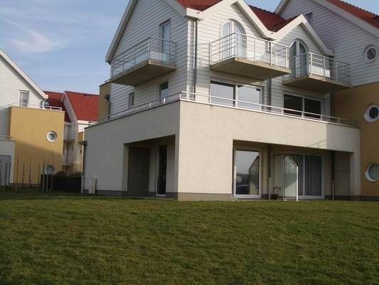Vue extérieure de la location Location Appartement 8921 Wimereux