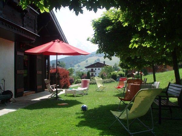 Jardin Location Chalet 912 Combloux
