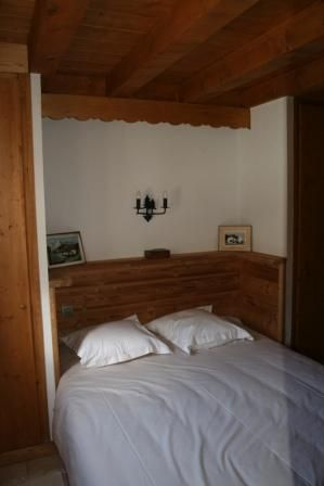 chambre 1 Location Chalet 930 Les Contamines Montjoie