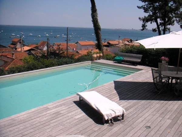Piscine Location Villa 9409 Cap Ferret