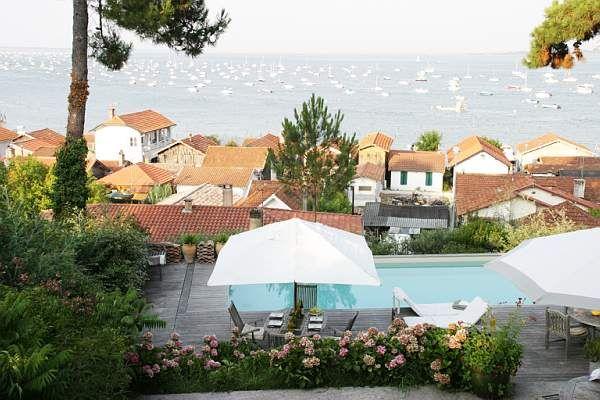 Vue de la terrasse Location Villa 9409 Cap Ferret