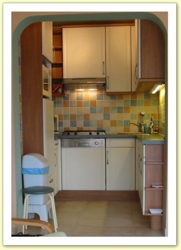 Cuisine indépendante Location Appartement 9556 La Panne