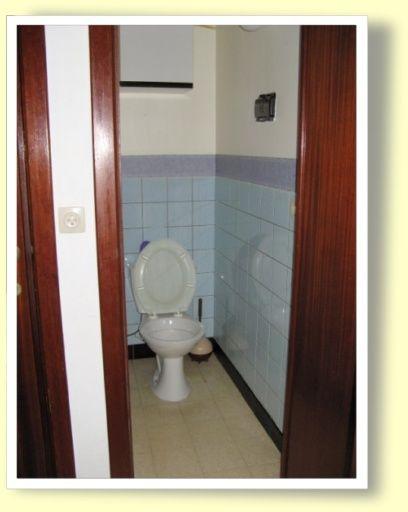 WC séparé Location Appartement 9558 La Panne