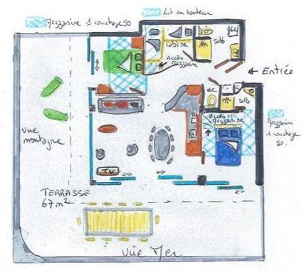 Location Appartement 86904 Algajola