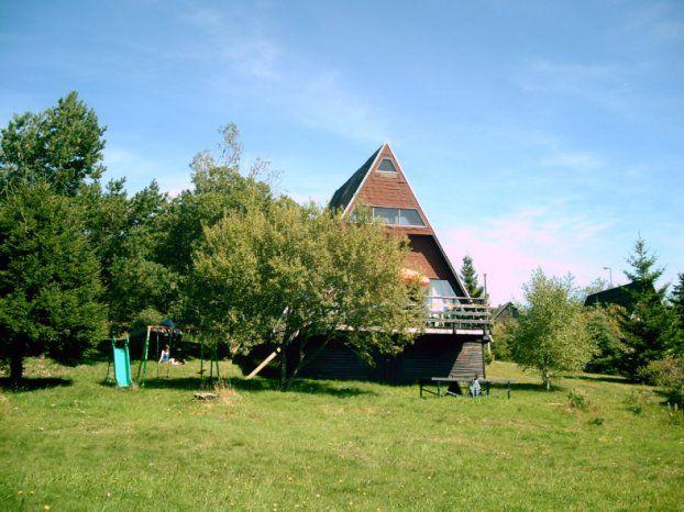 Vue extérieure de la location Location Chalet 67212 Besse - Super Besse