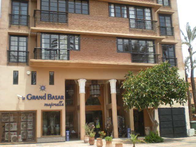 Vue extérieure de la location Location Appartement 70324 Marrakech