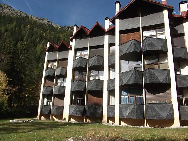Vue extérieure de la location Location Appartement 80794 Argentière